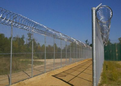 12' Dentention Center Fence